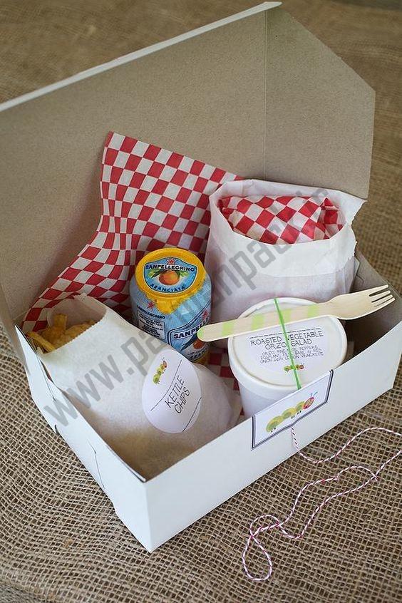 جعبه بسته بندی غذا