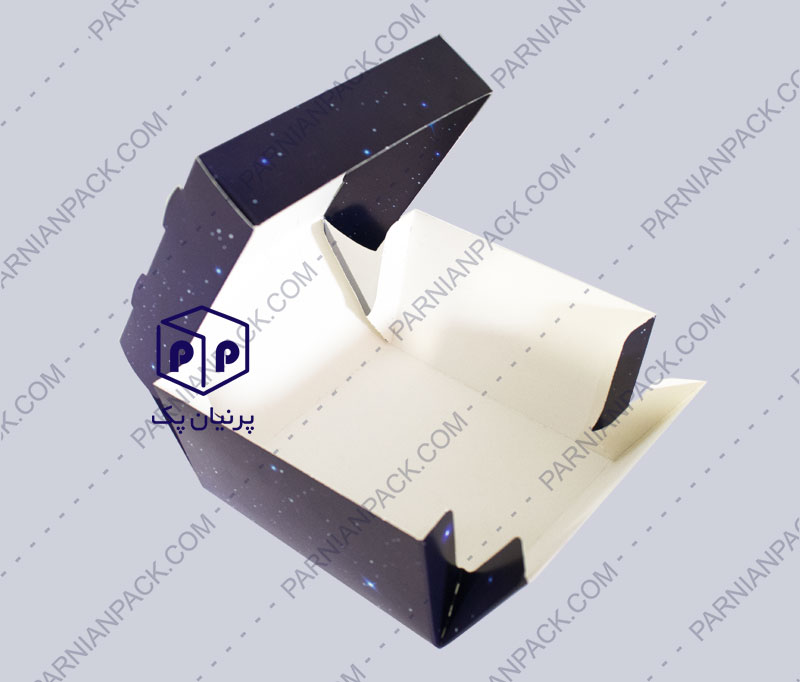 جعبه برگر بشقابی 3