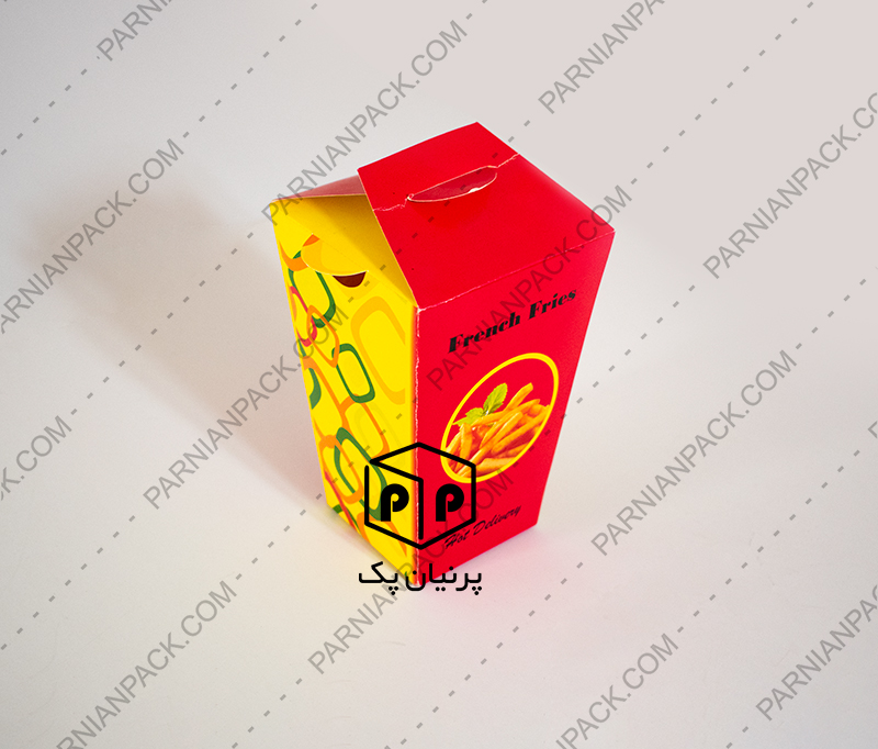 جعبه سیب زمینی هرمی