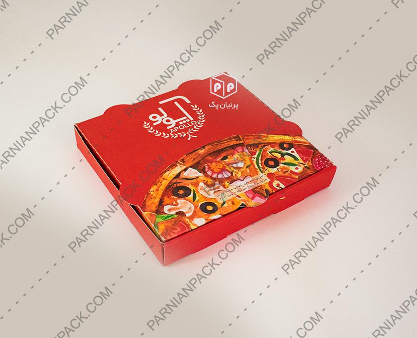 جعبه پیتزا یک نفره