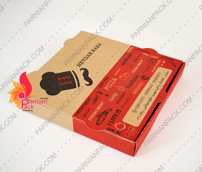 طراحی جعبه پیتزا