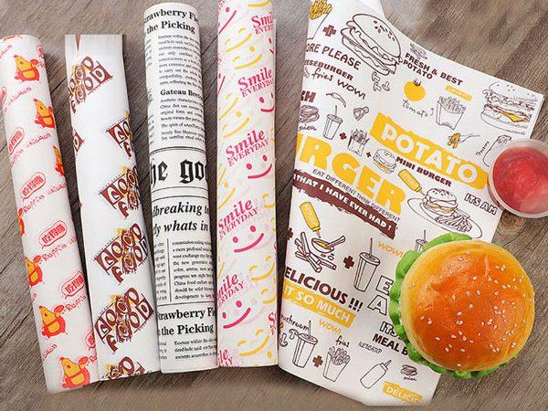کاغذ مومی دورپیچ ساندویچ