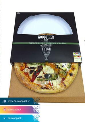 جعبه پیتزا پنجره دار 2