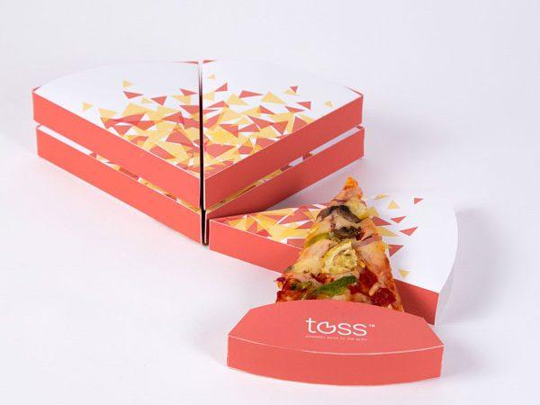 جعبه پیتزا اسلایسی